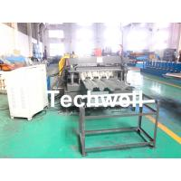 10-12m/min Forming Speed Metal Deck Flooring System Floor Decking Roll Forming Machine With 22KW Motor Power Manufactures