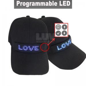 China Baby Boy Baseball Cap Led Emergency Light led Hat Advertisement on sale