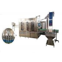 High Speed 24 Heads Mineral Water Filling Machine / Line PLC + Touch Screen Manufactures