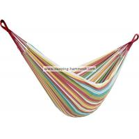 Multi Colored Coastal Brazilian Sleeping Hammock , Cool Outer Banks Two Person Hammock Manufactures