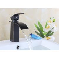 Zinc Alloy Single Handle Waterfall Bathroom Faucet Easy Install ROVATE Manufactures