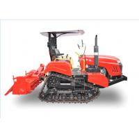 China Crawler Type Agriculture Mini Tractors Working On The Farm Low Center Of Gravity on sale