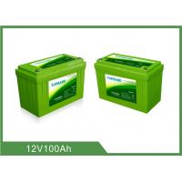China Lithium Iron Phosphate Deep Cycle Battery Pack for Solar, RV, Lifepo4 12v Battery on sale