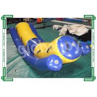 Durable PVC Tarpaulin Seesaw Rocker Inflatable Pool Toy , Inflatable Water Totter Manufactures
