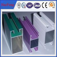 types of aluminium extrusion frame sliding glass/best price of aluminium sliding window Manufactures