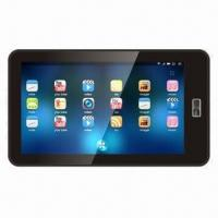 """7"""" Super Thin Tablet PC with Android 4.0 OS/Capacitive Touch/Wi-Fi, Supports External 3G/3D Games Manufactures"""