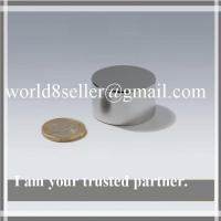 Custom Shallow Pot Magnet with NdFeB Disc, Small Bonded Neodymium Pot Magnet Manufactures