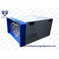20 - 6000Mhz Waterproof Vehicle Bomb Jammer Full Band Frequency RF 3G 4G Cell Phone Signal Jammer Manufactures