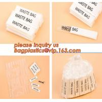 Individually Packed Waste Bags, Single Folded bag, individual packed bag, individually fold bags, waste bags, clinicial Manufactures