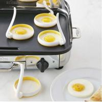Buy cheap FBT121703 for wholesales stainless steel silicone egg mold with handle from wholesalers