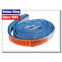 Eye To Eye Flat Lifting Slings Class 5 Safety Factor OSHA And ASME Standards Manufactures