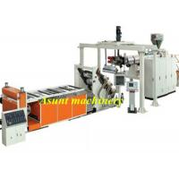 Quality PET PETG CPET Sheet Extrusion Machine For Vacuum Forming Boxes and Cups for sale
