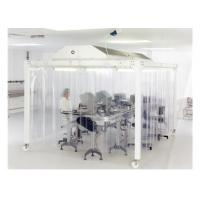 EBM Fan Lab Modular Softwall Cleanroom / Hospital Class 10000 Clean Room Manufactures