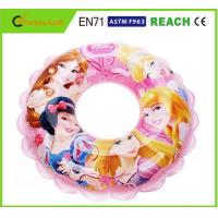 Attractive Design Inflatable Swim Ring Cartoon Character For Kids Over 8 Years Old Manufactures