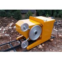 18.5 KW Diamond Wire Saw Cutting Machine For Reinforced Concrete Cutting Manufactures