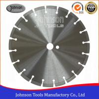 China 300mm Laser Welded Diamond Circular Saw Blade Concrete Cutting Tools on sale