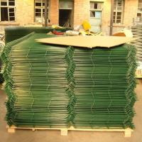 China Building Material Weld Mesh Fence Panels / Pvc Coated Wire Mesh Panels on sale
