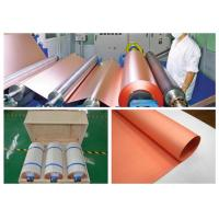 Buy cheap Rolled Copper Foil For Conductive Tape , Custom Inner Diameter Copper Foil Sheet from wholesalers