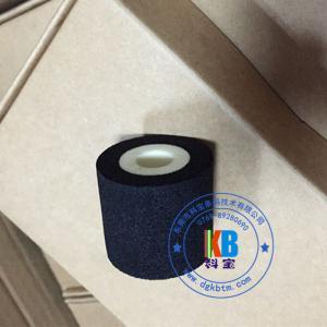 Hot ink roller 35mm*30mm 36mm*32mm black color for Bangladesh for expiry date batch number printing Manufactures