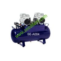 China Silent Oilless Air Compressor 1680W one for four unit 32L SE-A004 on sale