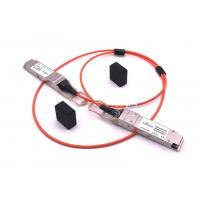 High Performance Cisco SFP Modules 40G Base-AOC 3.3~5.5v  With 1 Meter Cable Manufactures