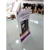 Mini Table  X Style Banner Stand Digital Printing Desktop Advertising Display Manufactures