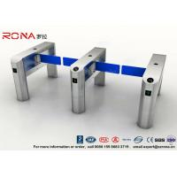 TCP / IP Security Electro Lock Door Swing Pedestrian Barrier Gate Turnstyle Fastlane Glass Manufactures