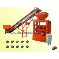 China Semi Automatic Brick making machine/block  Small Scale machine 4-26 Economic Construction Machinery on sale