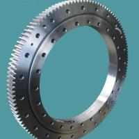 slewing ring bearingsSingle row four point contact ball slewing bearing external gear Manufactures
