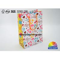 Buy cheap Matt Laminated Full Color Printintg Cartoon Custom Paper Shopping Bags from wholesalers