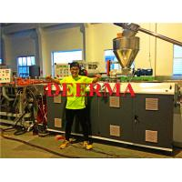 China Plastic Extrusion Line WPC PVC Foam Board Machine 1220mm - 1830mm on sale