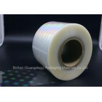 Quality Clear Holographic BOPP Shrink Film 2400m - 2800m Length Thermal Laminating for sale