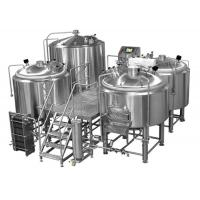 Manual Or Semi Automatic Beer Brew House Mirror Polishing Beer Making Equipment Manufactures