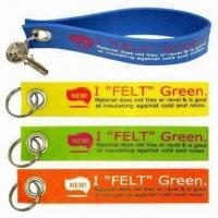 Remove Before Flight Large Felt/Nonwoven Keychains Manufactures