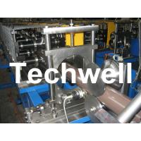 Downpipe Roll Forming Machine for Rainwater Downpipe, Rainspout, Water Pipe, Drainpipe Manufactures