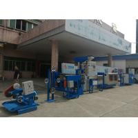Professional Horizontal Cable Extruder Machine For Computer / Building Wire Manufactures