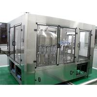 3 In 1 Water Filling Machine , Small Bottle Filling And Capping Machine Manufactures