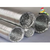 Custom Ventilation 100mm Flexible Ducting Aluminum Highly Elasticity Manufactures
