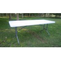easy handling 6ft plastic foldable table YZ-Z183 Manufactures