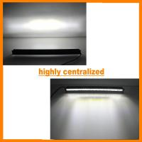 5400 lm 5D+ 12 inch OSRAM 70W LED Light Bar Flood Spot Combo Single Row Offroad Suv slim Manufactures