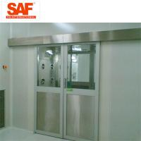 Automatic Sliding Door Cleanroom Air Shower System Tunnel With Custom Width Manufactures