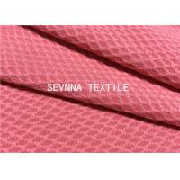Solid High Colorfastness Recycled Swimwear Fabric Diamond Textured Spring And Summer Tankini Style Manufactures