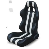 High performance universal sport car seats / black and white bucket seats Manufactures
