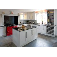 American type solid wood kitchen cabinet, kitchen storage cabinet Manufactures