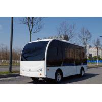 Self Driving Bus / Solar Powered Electric Vehicle AGV 8 Seater With EPS Braking System Manufactures