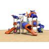 Durable Anti UV Multi Color Childrens Plastic Playground Equipment CE Certificate for sale