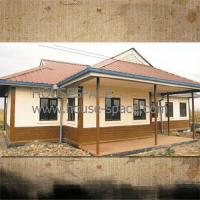 China Cozy Modern Prefab Container House Steel Structure , Waterproof Design AND Sandwich Panel on sale