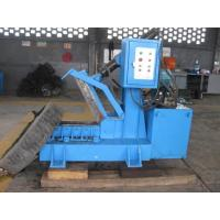 China Rubber Scrap Tyre Cutting Machine High Purity Environmental Protection on sale