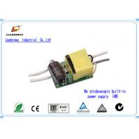 CE standard Constant Current 3W LED Driver with 90-264V AC Input Voltage Manufactures