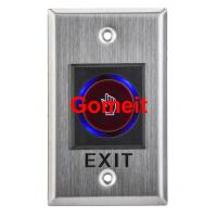 Infrared Long Door Release Switch / Exit Button Recessed Mounted Manufactures